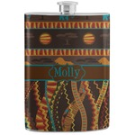 African Lions & Elephants Stainless Steel Flask (Personalized)