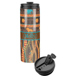 African Lions & Elephants Stainless Steel Tumbler (Personalized)