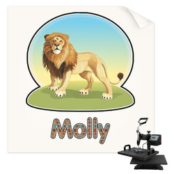 African Lions & Elephants Sublimation Transfer (Personalized)