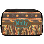 African Lions & Elephants Toiletry Bag / Dopp Kit (Personalized)
