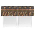 African Lions & Elephants Valance (Personalized)