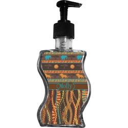 African Lions & Elephants Wave Bottle Soap / Lotion Dispenser (Personalized)