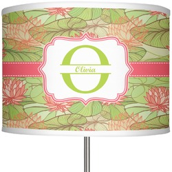 "Lily Pads 13"" Drum Lamp Shade (Personalized)"