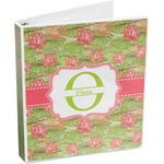 Lily Pads 3-Ring Binder (Personalized)
