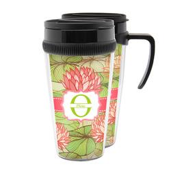 Lily Pads Acrylic Travel Mugs (Personalized)