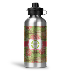 Lily Pads Water Bottle - Aluminum - 20 oz (Personalized)