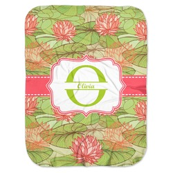 Lily Pads Baby Swaddling Blanket (Personalized)