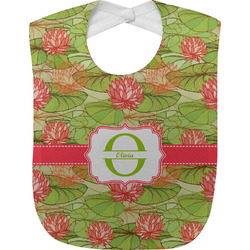 Lily Pads Baby Bib (Personalized)