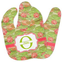 Lily Pads Baby Bib w/ Name and Initial
