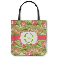 Lily Pads Canvas Tote Bag (Personalized)