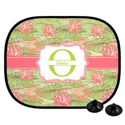 Lily Pads Car Side Window Sun Shade (Personalized)