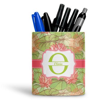 Lily Pads Ceramic Pen Holder