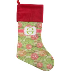 Lily Pads Christmas Stocking (Personalized)