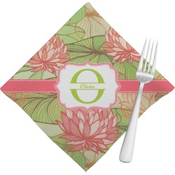Lily Pads Napkins (Set of 4) (Personalized)