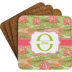 Lily Pads Coaster Set w/ Stand (Personalized)