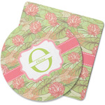 Lily Pads Rubber Backed Coaster (Personalized)