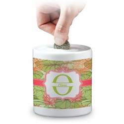 Lily Pads Coin Bank (Personalized)
