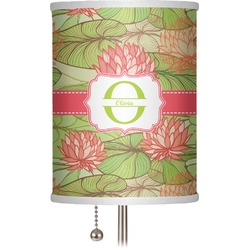 """Lily Pads 7"""" Drum Lamp Shade (Personalized)"""