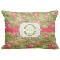 """Lily Pads Decorative Baby Pillowcase - 16""""x12"""" (Personalized)"""