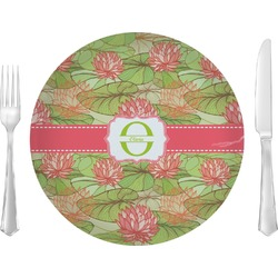 Lily Pads Glass Lunch / Dinner Plates 10