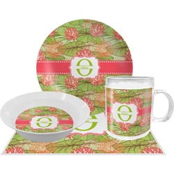 Lily Pads Dinner Set - 4 Pc (Personalized)