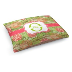 Lily Pads Dog Pillow Bed (Personalized)