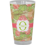 Lily Pads Drinking / Pint Glass (Personalized)
