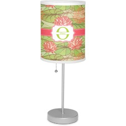 "Lily Pads 7"" Drum Lamp with Shade (Personalized)"
