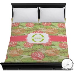 Lily Pads Duvet Cover (Personalized)