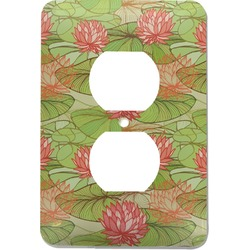 Lily Pads Electric Outlet Plate (Personalized)