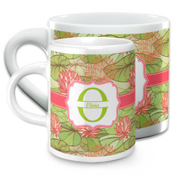 Lily Pads Espresso Cups (Personalized)