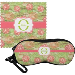 Lily Pads Eyeglass Case & Cloth (Personalized)