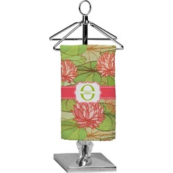 Lily Pads Finger Tip Towel - Full Print (Personalized)