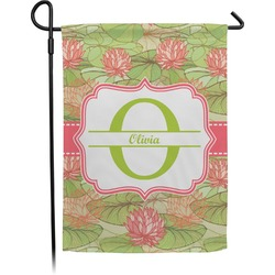 Lily Pads Garden Flag (Personalized)