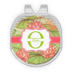 Lily Pads Golf Ball Marker - Hat Clip