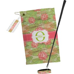 Lily Pads Golf Towel Gift Set (Personalized)