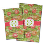 Lily Pads Golf Towel - Full Print w/ Name and Initial