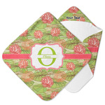 Lily Pads Hooded Baby Towel (Personalized)