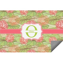 Lily Pads Indoor / Outdoor Rug - 3'x5' (Personalized)