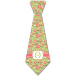 Lily Pads Iron On Tie - 4 Sizes w/ Name and Initial