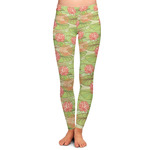 Lily Pads Ladies Leggings (Personalized)