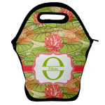 Lily Pads Lunch Bag w/ Name and Initial