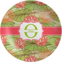 Lily Pads Melamine Plate - 8