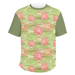 Lily Pads Men's Crew T-Shirt (Personalized)