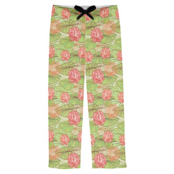 Lily Pads Mens Pajama Pants (Personalized)