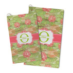 Lily Pads Microfiber Golf Towel (Personalized)