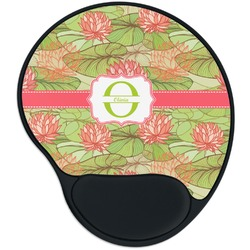 Lily Pads Mouse Pad with Wrist Support