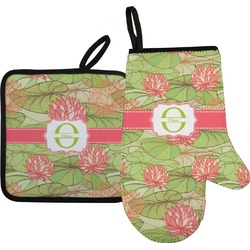 Lily Pads Oven Mitt & Pot Holder (Personalized)