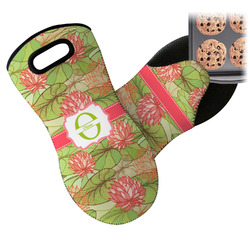 Lily Pads Neoprene Oven Mitt (Personalized)