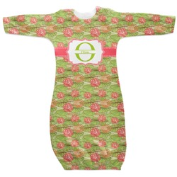 Lily Pads Newborn Gown (Personalized)